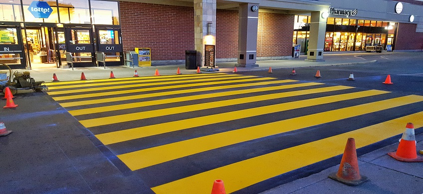 Parking Lot Line Painting Vancouver Surrey Langley Chilliwack